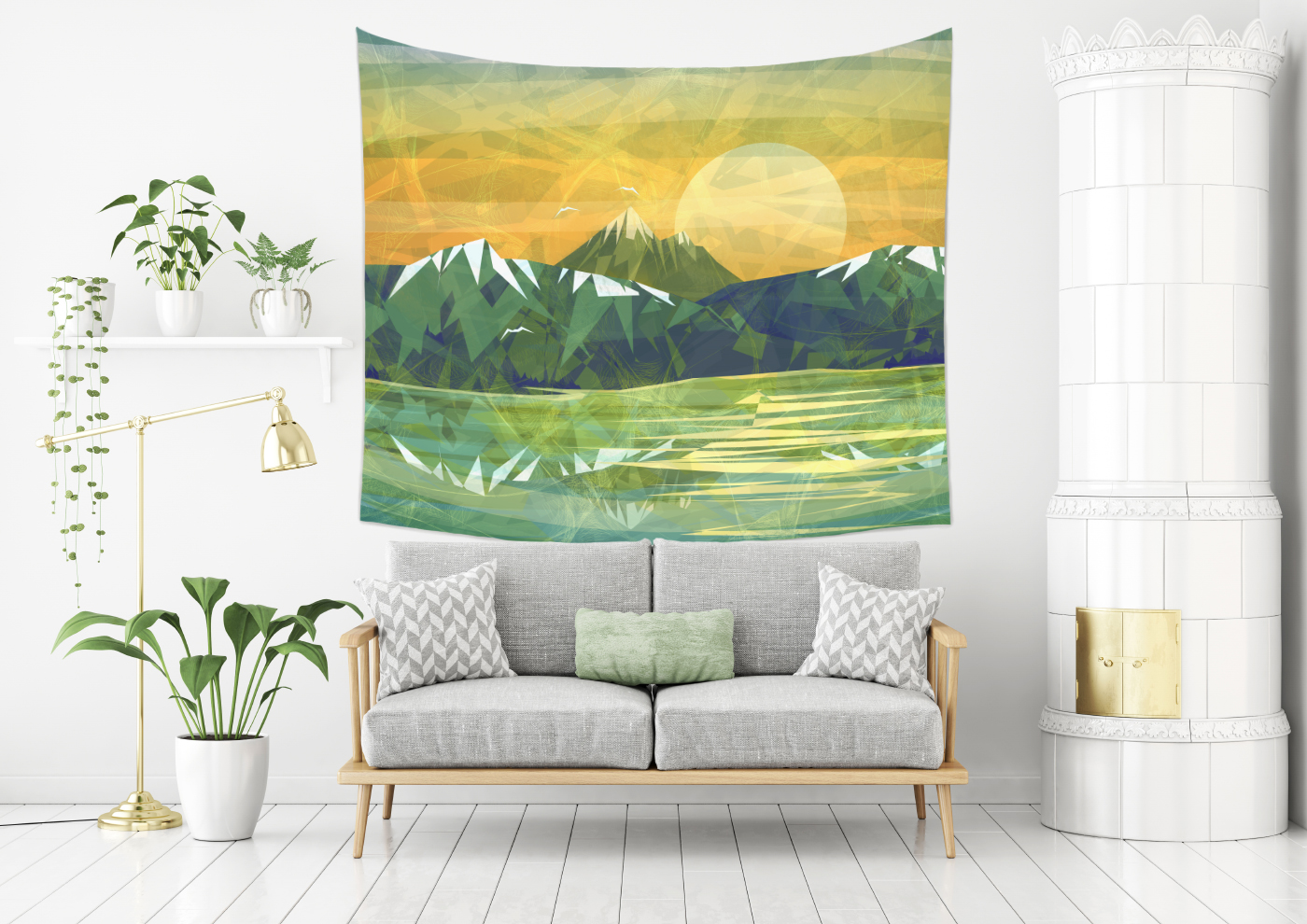 Thubakabra Abstract Mountain Designs For Home Decors