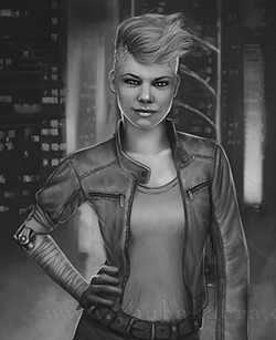 Stranger Things Themed Custom Art