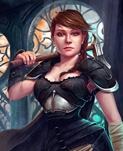Vintage Themed Custom Portrait