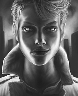Thor Themed Custom Portrait