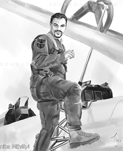 Guy with as a Pilot