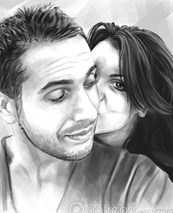 Simple Couple Portrait